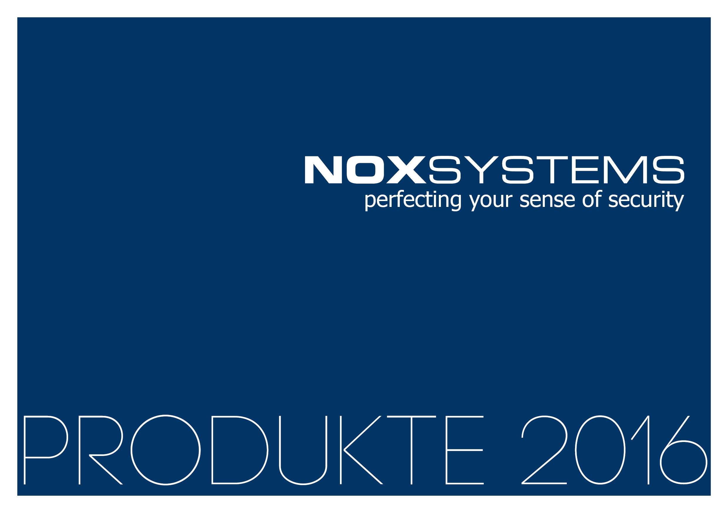 NOX products 2016