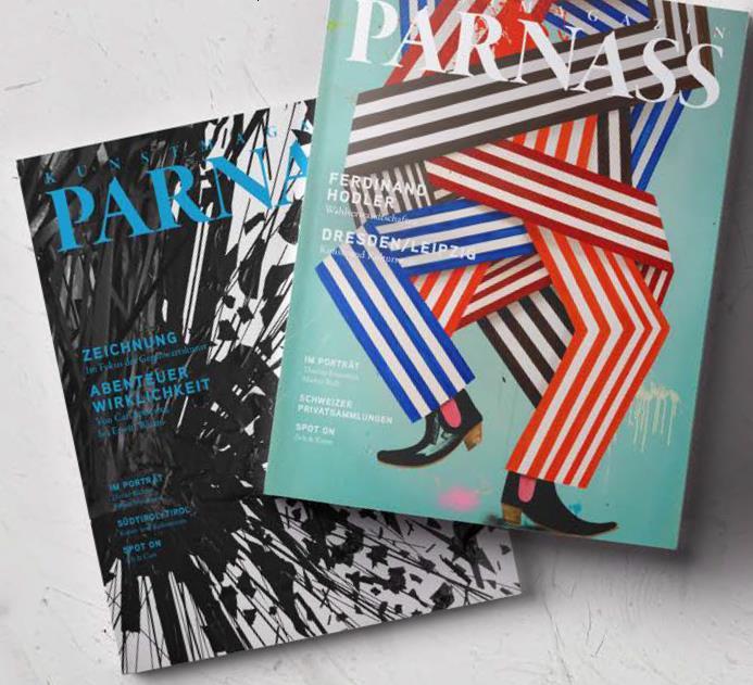 NOX im Kunstmagazin PARNASS